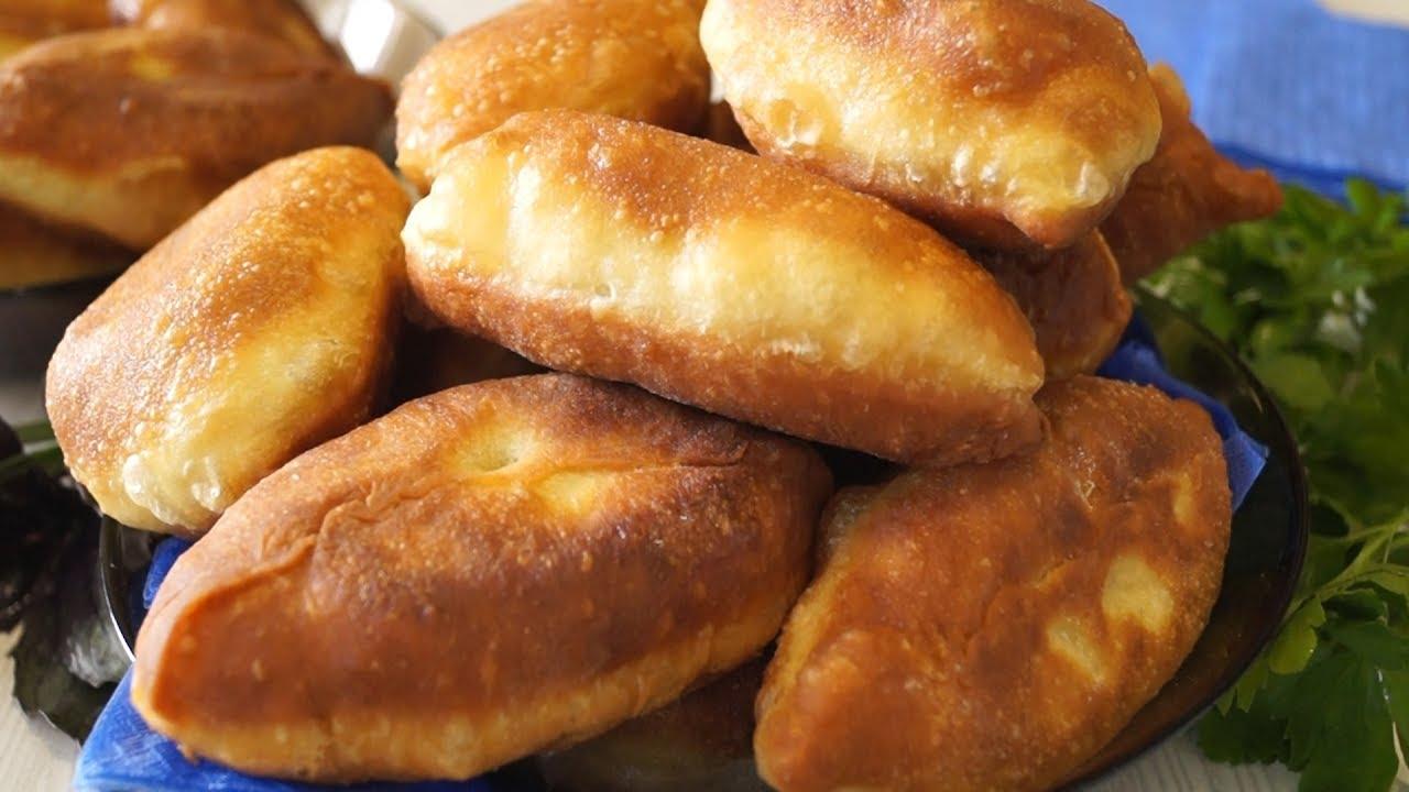 Випічка без яєць - пиріжки з тіста без дріжджів на сковороді