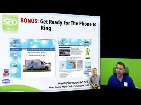 Plumber SEO - Your Internet Marketing Plan Training for Plum