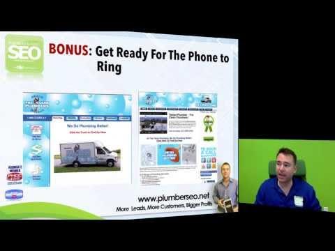 Plumber SEO - Your Internet Marketing Plan Training for Plumbing & HVAC Businesses