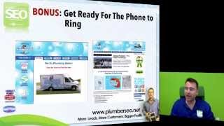 Plumber SEO - Your Internet Marketing Plan Training for Plumbing & HVAC Businesses