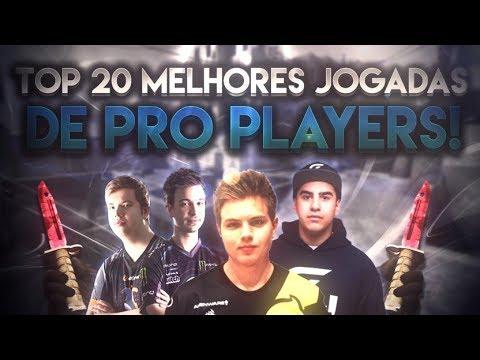 TOP 20 - MELHORES JOGADAS DE PROFISSIONAIS NO CS:GO