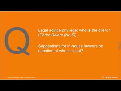 Legal Privilege: Implications and tips for in-house lawyers
