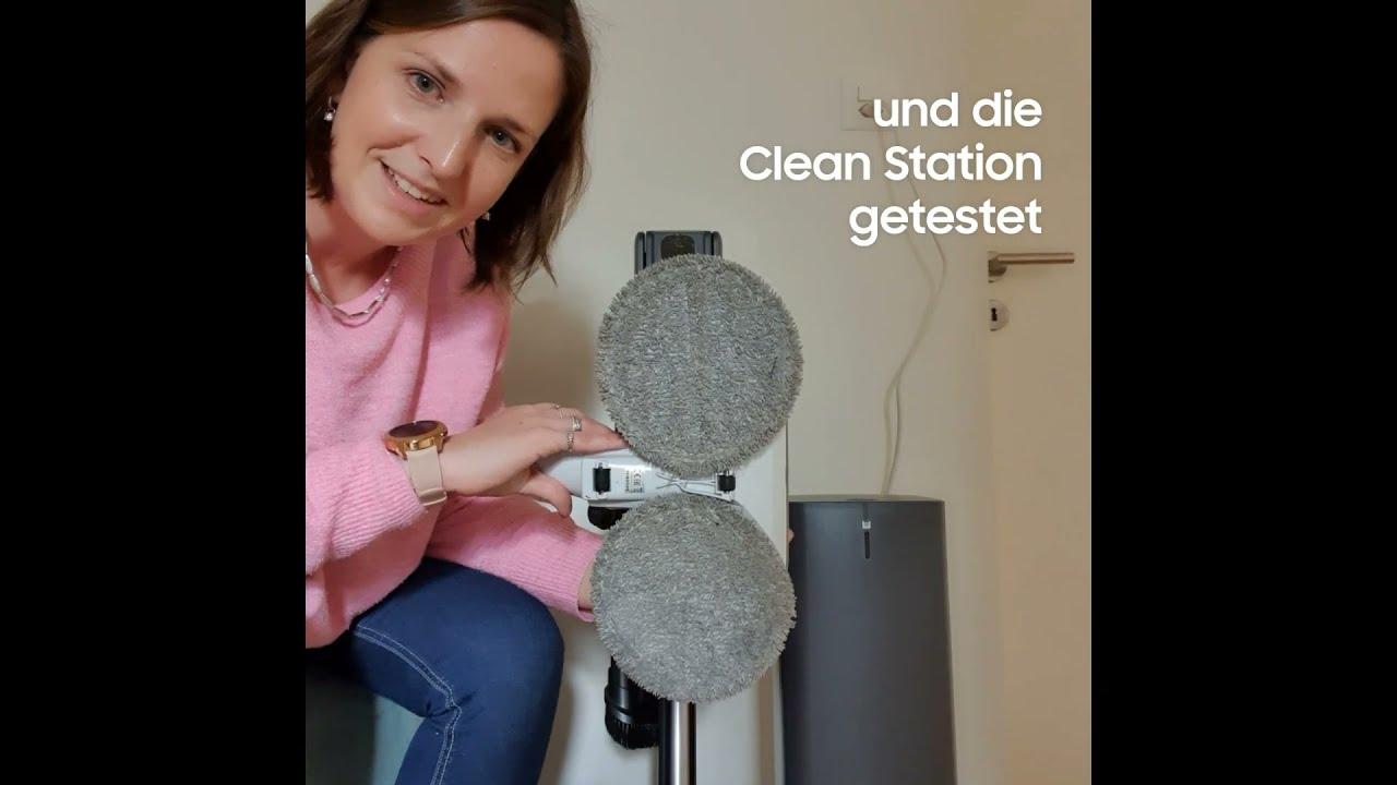 Samsung Jet 90 complete & Clean Station bei Claudia im Test