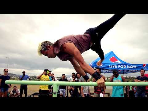 Street Workout - First Competition in New Caledonia