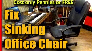 How to Fix Office Chair from Sinking - GuruBrew CRF TIP