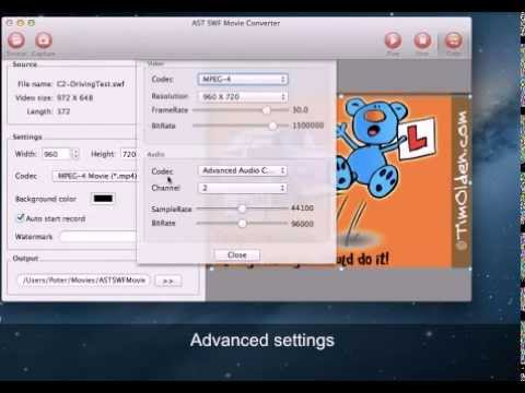 How to Convert SWF to 3GP or 3G2 on Mac