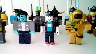 Teaching my ROBLOX toys