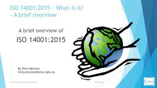 ISO 14001   What is it ?  an overview