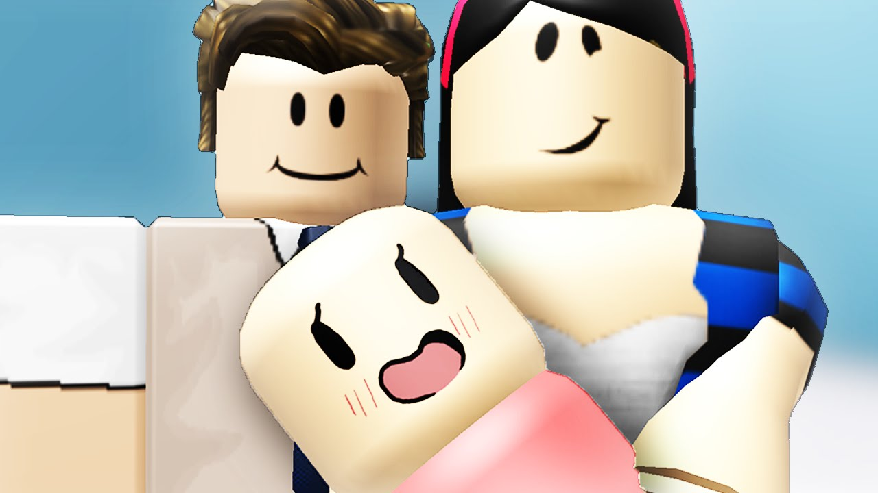 STARTING A FAMILY IN ROBLOX - YouTube
