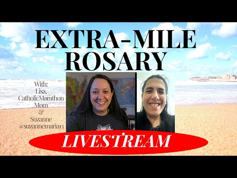 Sunday Lent Rosary LIVESTREAM with @suzannemaria13 on Instagram