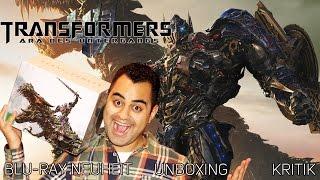 Transformers 4 (Dinobot Edition)  Bluray Neuheit  Kritik  Unboxing  Special Guest