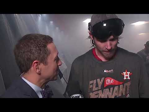 Josh Reddick Postgame Interview | Astros vs Yankees Game 7 ALCS