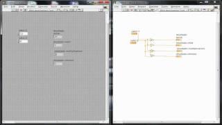 Tutorial # 1 LabVIEW - Operaciones Aritmeticas