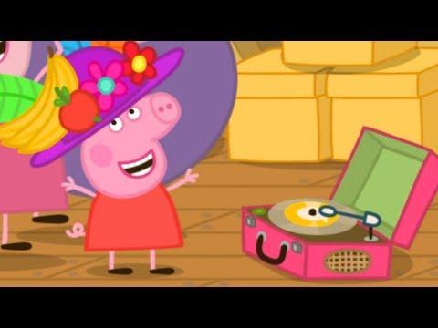 Peppa Pig en Español Episodios completos | Ático de la abuela y el abuelo! | Dibujos Animados