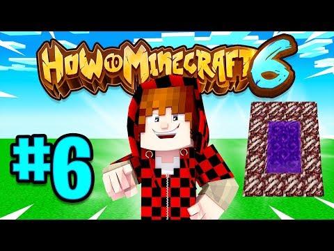 PORTAL PRANK - How To Minecraft Season 6 #6
