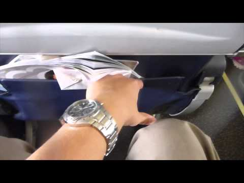 Aer Lingus Economy Class A320 In-Flight Experience
