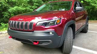 2019 Jeep Cherokee Trailhawk 4X4 Best Detailed Video Walkaround