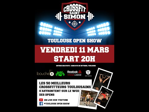 16.3 TOULOUSE OPEN SHOW start 20H