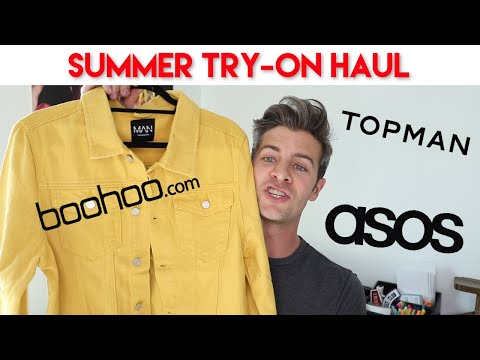 SUMMER TRY-ON HAUL 2018 | BooHoo, ASOS, & Topman | Mens Outfit Inspiration