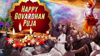 Happy Govardhan Puja | Govardhan Puja WhatsApp Status | Mangalmay Govardhan Puja |#Smrithy's Kitchen
