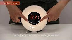 OSSOLA  Sunrise alarm clock user instruction