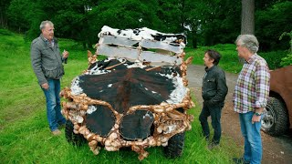 Экологичные машины. Машина из костей.  Гранд тур на русском.