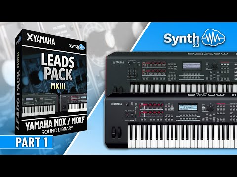 LEADS PACK MKII SOUND BANK | YAMAHA MOX / MOXF | JAMMING PART 2 |  Synthcloud Library