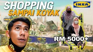 BELI BARANG UNTUK OFFICE   HABIS RM5000!