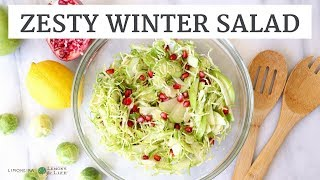 Zesty Winter Salad | Quick, Healthy Holiday Appetizer | Limoneira