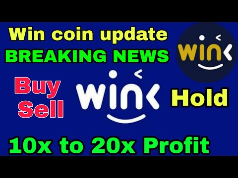 Win (WinkLink) coin update    Wink coin Price Prediction in Hindi    Crypto Tv India