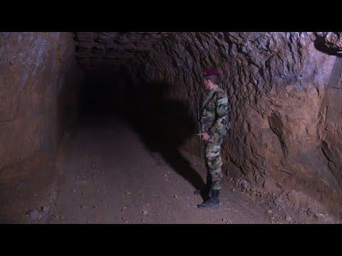 Ghouta: un labyrinthe de tunnels creusés par les rebelles