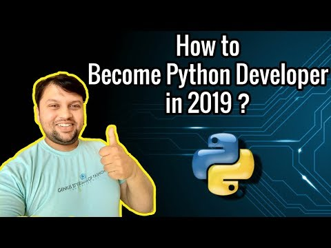 How To Become A Python Developer? | Python Tutorial | Python Certification Training thumbnail