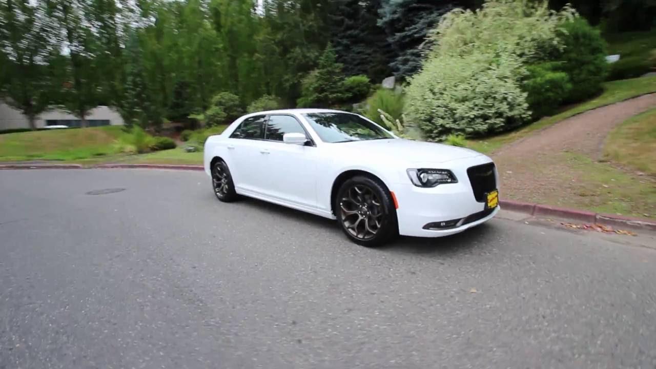 2016 Chrysler 300 S White Gh304425 Redmond Seattle