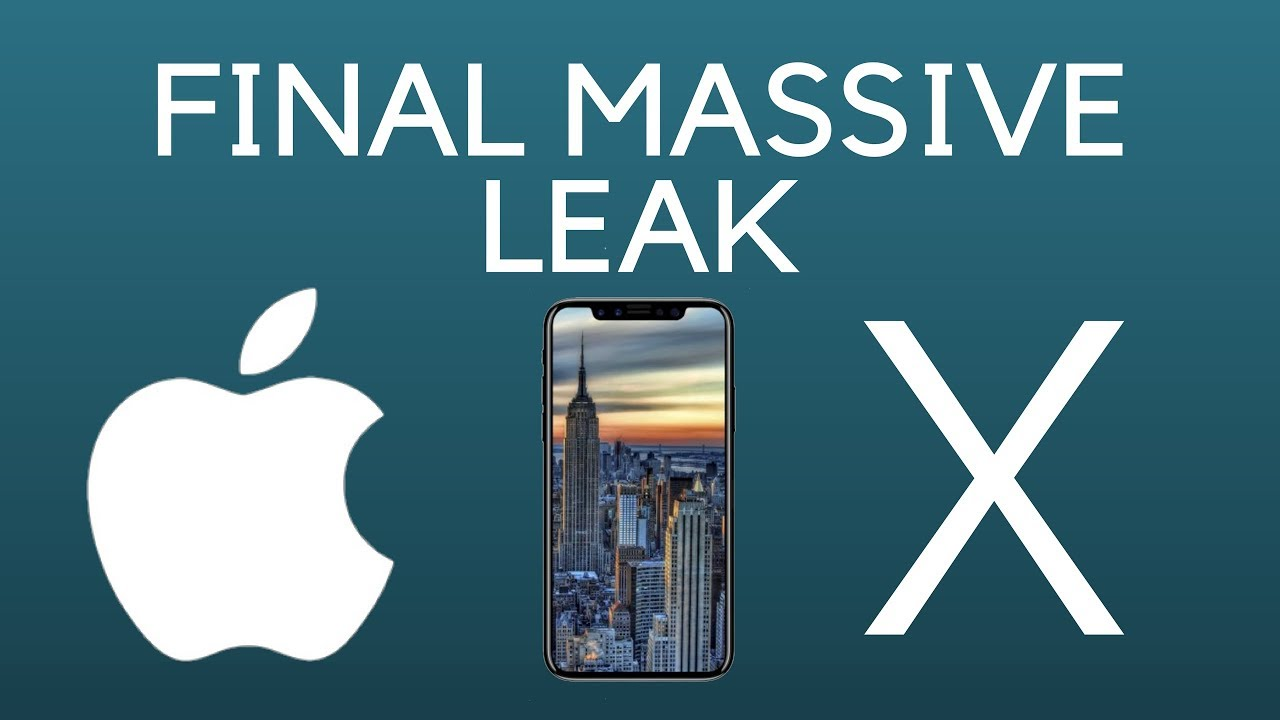 Gm Hacker Wallpaper: IPhone 8 MASSIVE NEW LEAKS // IOS 11 GM WALLPAPERS // FACE