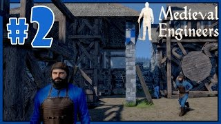 Let's Play Medieval Engineers Gameplay - Part 2 - Quarry Preparations