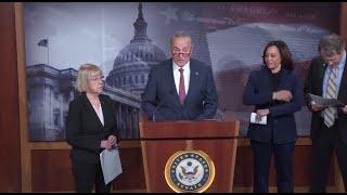 WATCH LIVE: Senate Democrats speak ahead of vote on witnesses in Trump impeachment trial