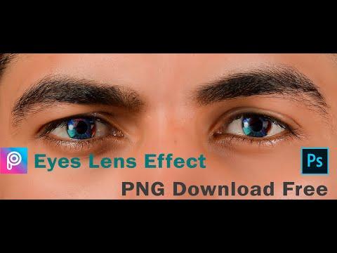Create Eyes Lens Effect In Photoshop    Lens Png Free Download (Link Description)