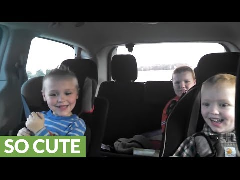 JT Bosch - WATCH: How Do You Think These Boys Feel About Mom Having Twins?