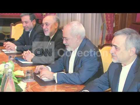 IRAN NUCLEAR TALKS: DAY 2 - KERRY AND IRAN FM MEET