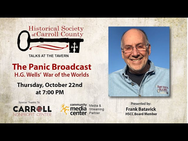 Talks at the Tavern - The Panic Broadcast