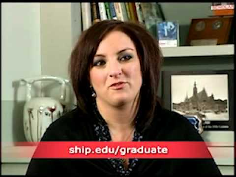 Step into your future with graduate studies at Shippensburg University! #ShipGradLife