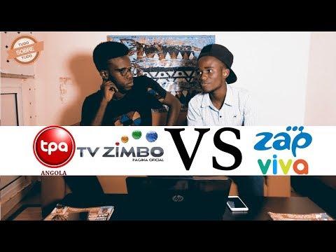 TPA e TV Zimbo Vs ZAP(Soltando a Língua)