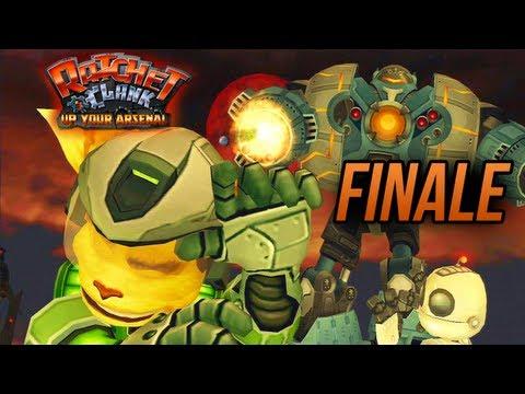 Ratchet and Clank 3: Up Your Arsenal - Finale
