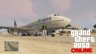 """GTA 5 Online"" How To Get The Jumbo Jet Online"