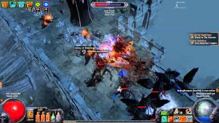 Path of Exile: The Awakening | Crit Dagger Wild Strike Ranger | Aqueducts Run