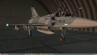 DCS 1.5.5 Mirage 2000C Campaign Mission 6: Mark 82