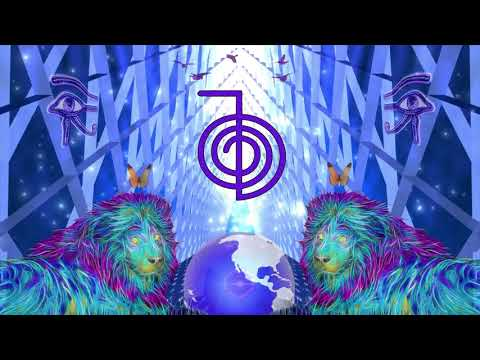 Visual Meditation - REIKI &  RA  symbols with KUNDALINI Music