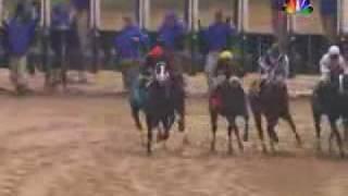 Amazing, Heroic 2009 Kentucky Derby Overhead Replay - Mine that Bird