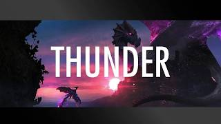 Thunder-Imagine Dragons (lyrics)