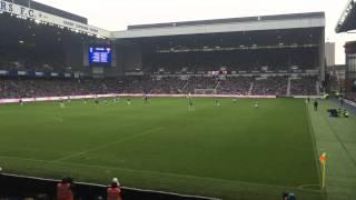 Rangers 1 Hearts 2 Danny Wilson Goal !